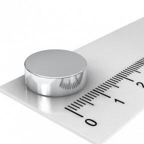 D15x4 N40 Neodymium disko formos magnetas